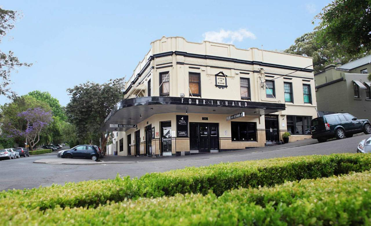 Paddington's Four in Hand Has Been Sold for $7 Million and Will Remain a Pub