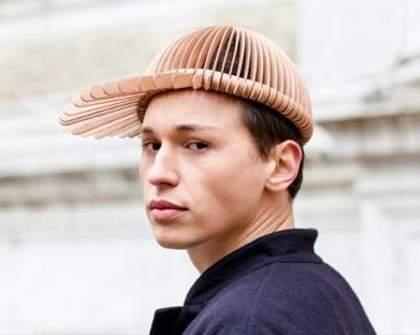 Wooden Headwear Enters the Fashion Scene
