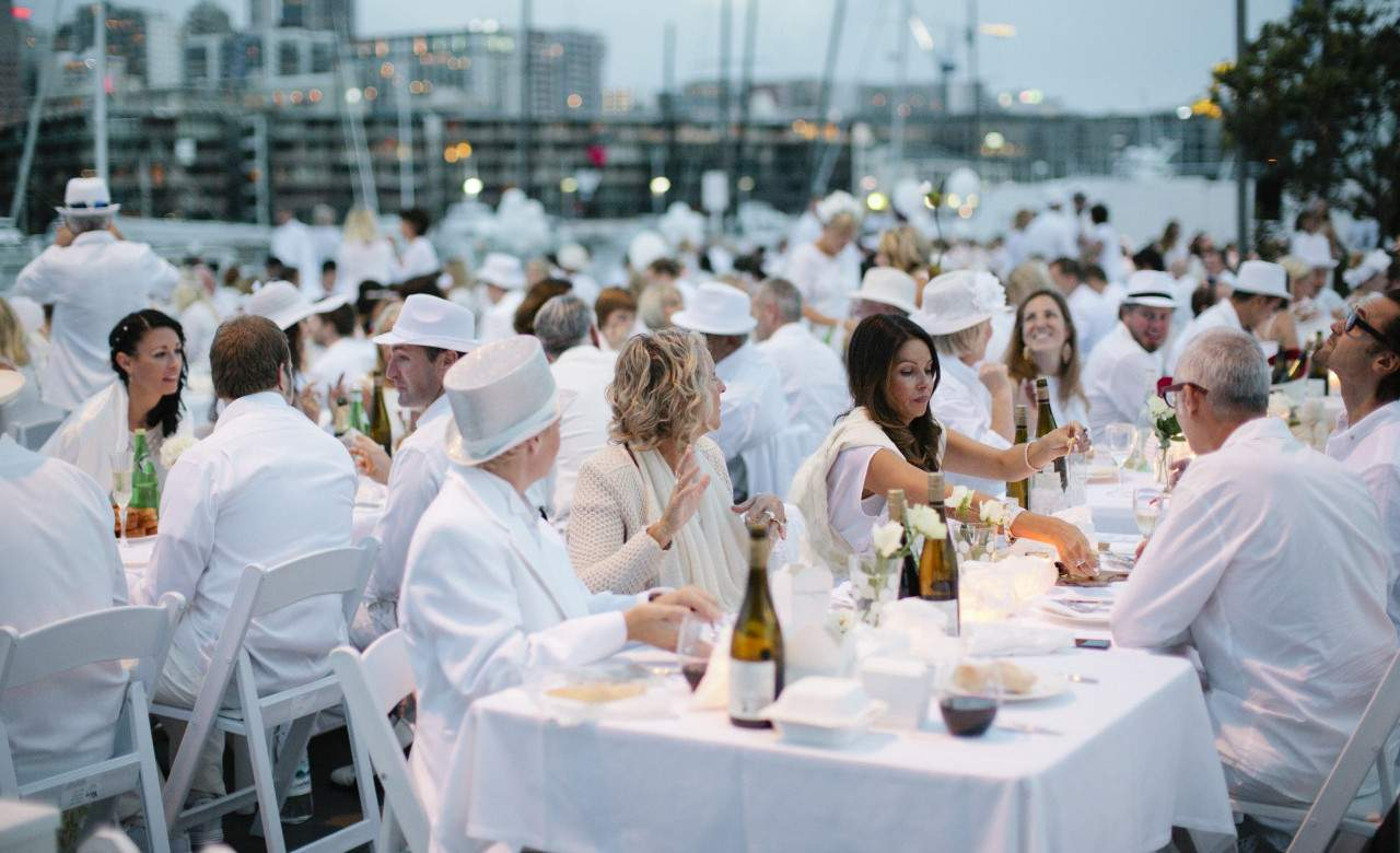 Posh Pop-up Picnic Diner en Blanc is Returning to Auckland