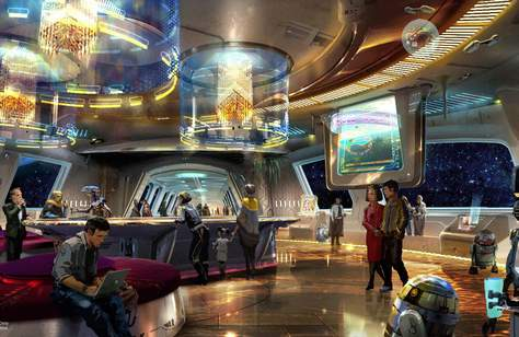 You Will Soon be Able to Stay at an Immersive Star Wars-Themed Hotel