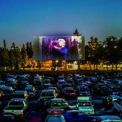 A Drive-In and Dine Cinema Experience