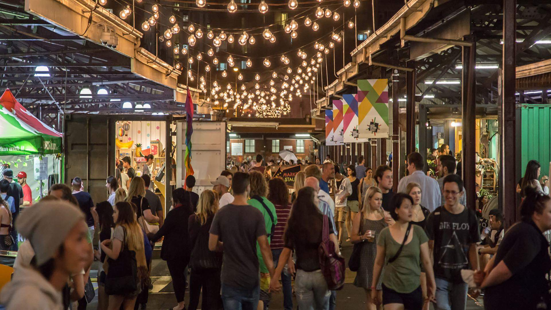 The Queen Vic Night Market Is Wrapping Up For Another Year