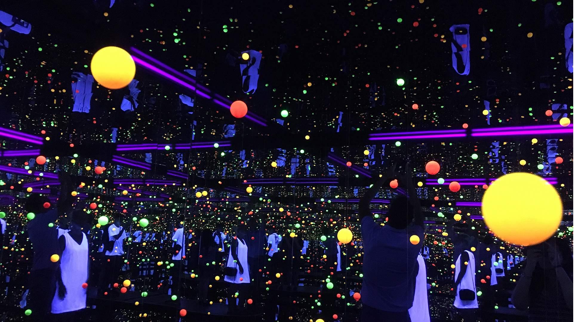 A Look Inside GOMA's Kaleidoscopic 'Yayoi Kusama: Life Is the Heart of a Rainbow' Exhibition