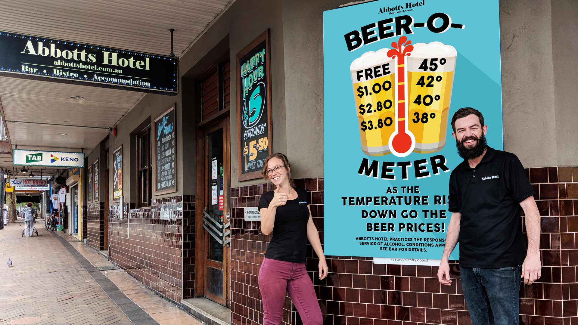 This Sydney Pub Is Giving Away Free Schooners When It's a Scorcher