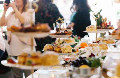 Mary's Scrumptious Gin High Tea