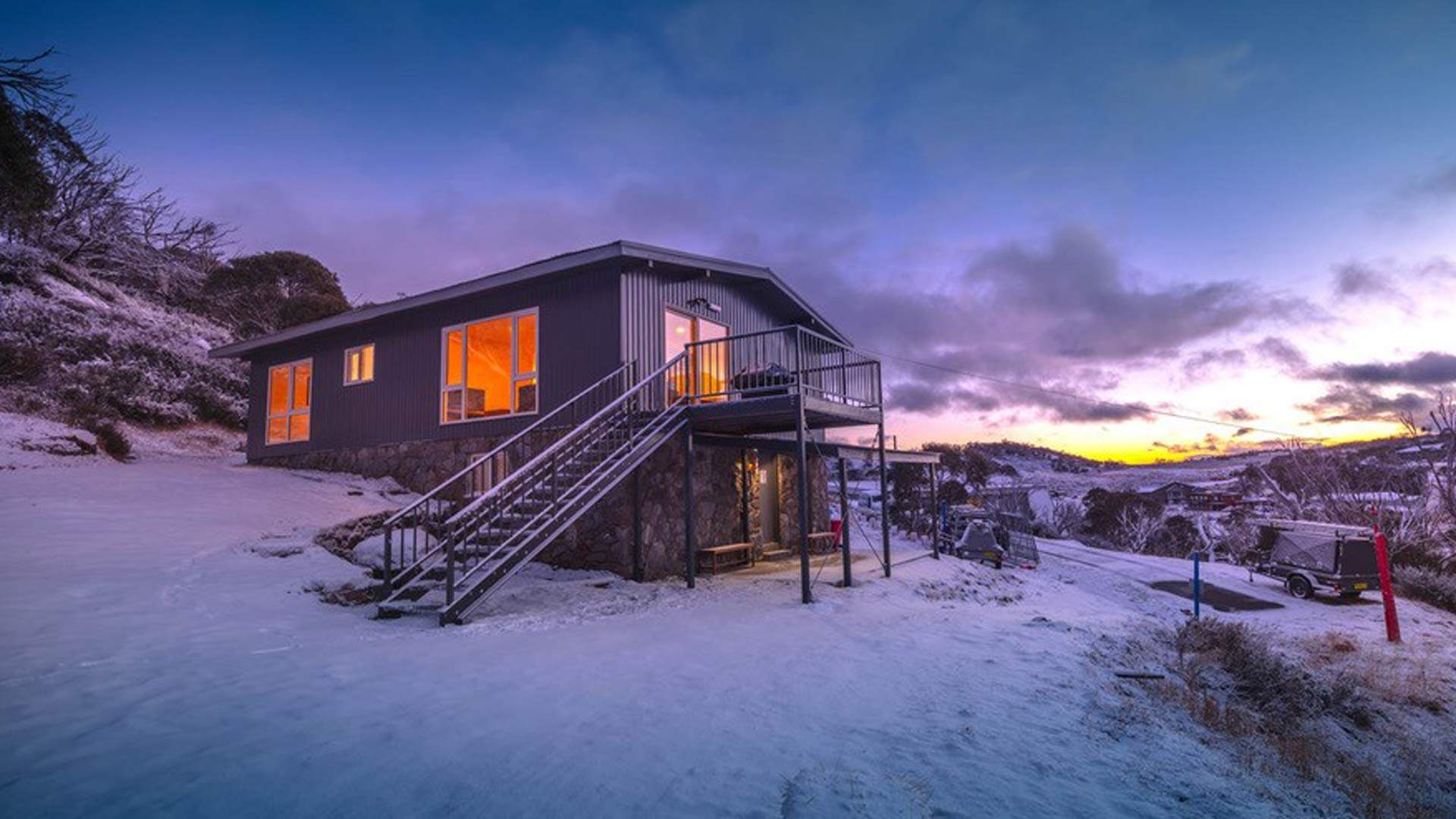 You Can Now Stay In This Secluded Ski-In Ski-Out Lodge in NSW