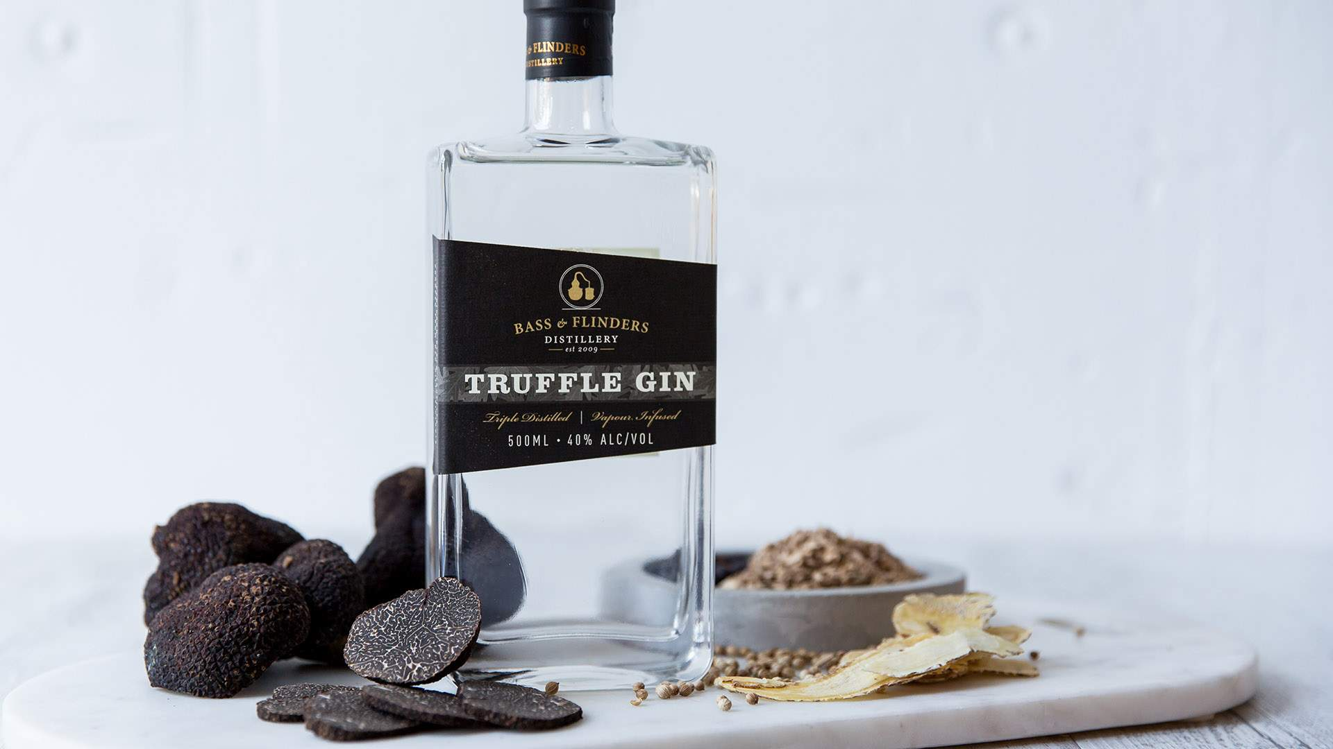 Bass and Flinders' Truffle-Infused Gin Is Here to Fulfil Your Decadent Drinking Dreams