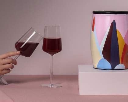 These Beautiful Mini Wine Barrels Are the Perfect Gift for Every Art-Loving Booze Hound