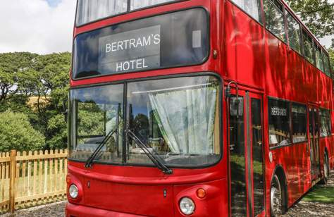 You Can Now Stay In an Agatha Christie-Inspired Hotel Inside a Double Decker Bus