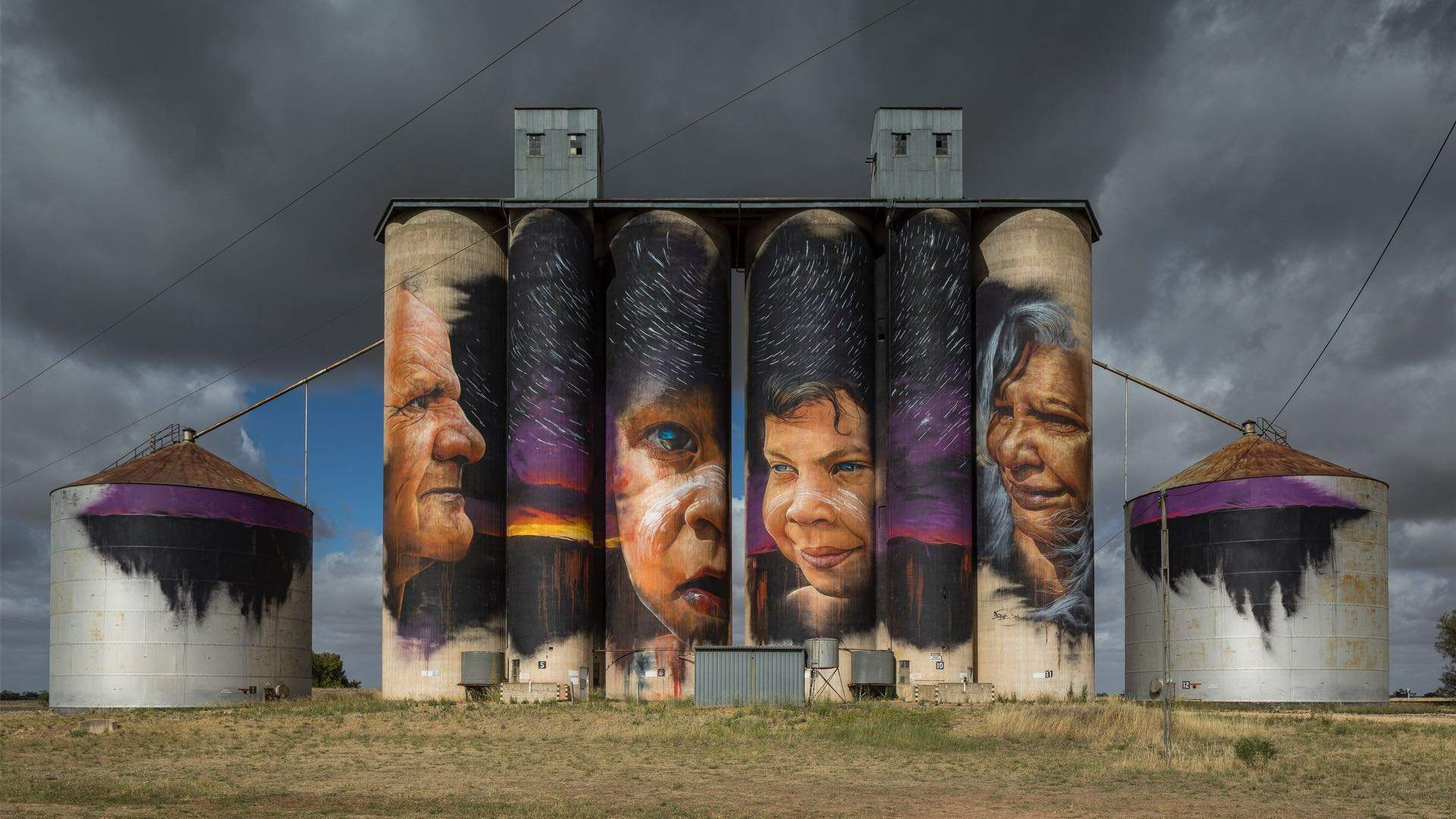The Silo Art Trail Is the Country's Largest Outdoor Gallery