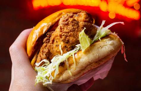 Sonny's Fried Chicken Burger Giveaway