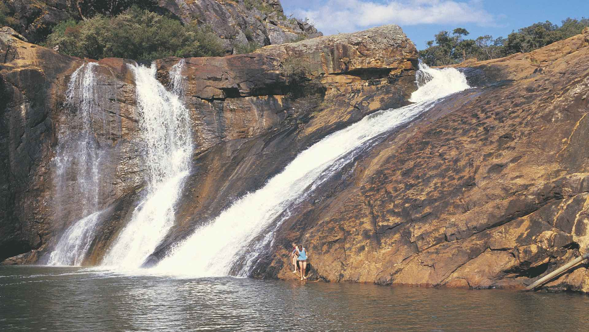 Serpentine Falls, in the Serpentine National Park