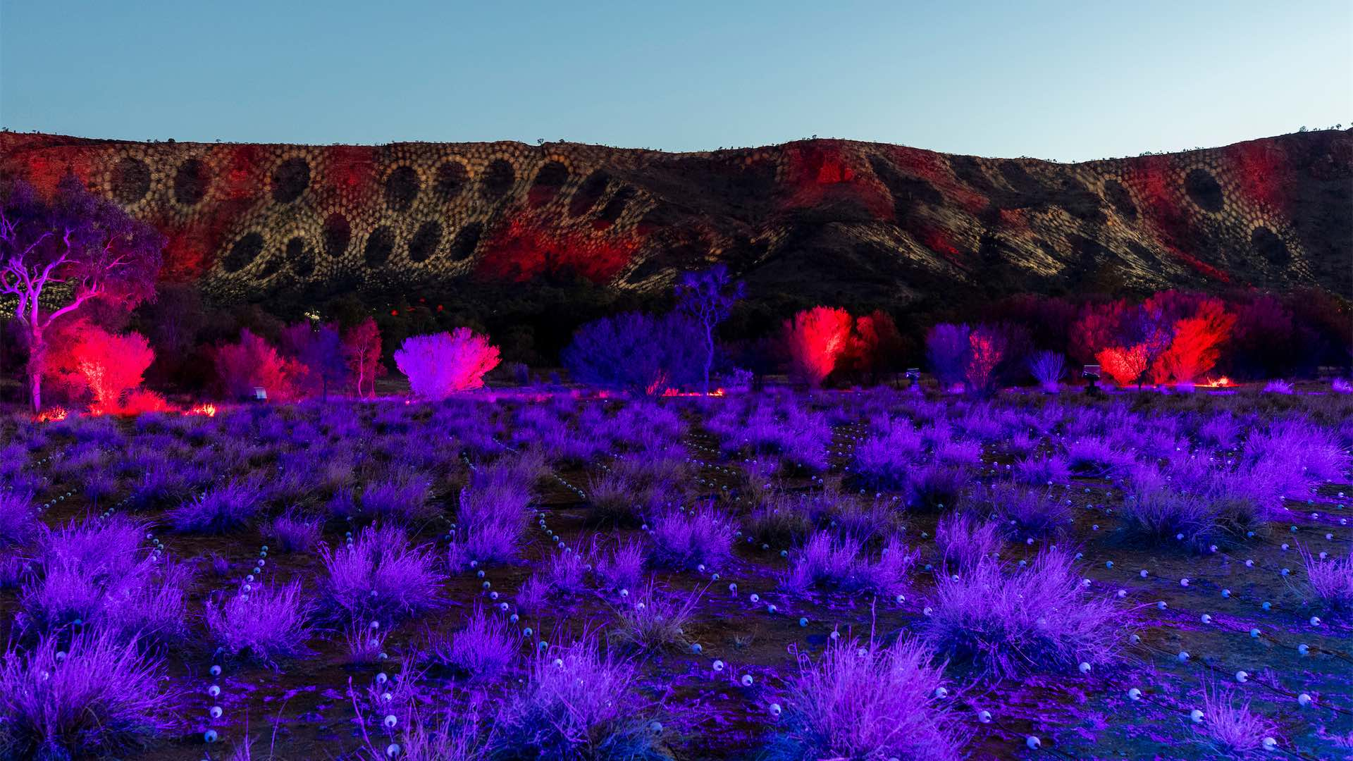 Parrtjima Festival Is Currently Lighting Up Alice Springs with Seven Epic Light Installations