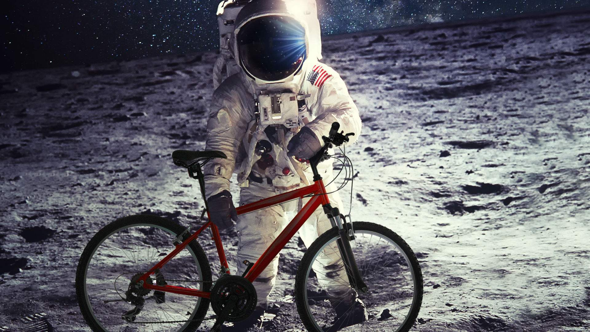 This Cycling Route Will Take You Past Six of Sydney Festival's Biggest, Free Moon-Themed Installations