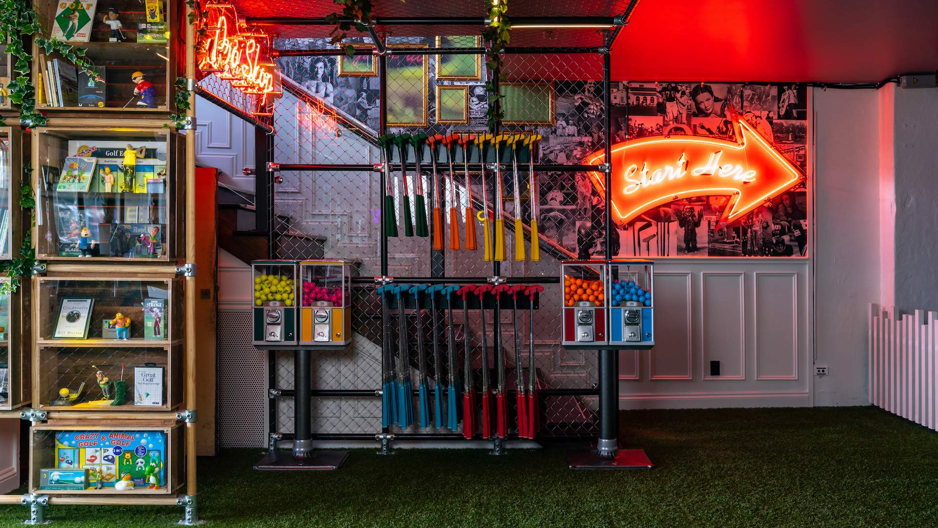 A Look Inside Auckland's Insane New Two-Storey Mini-Golf Bar