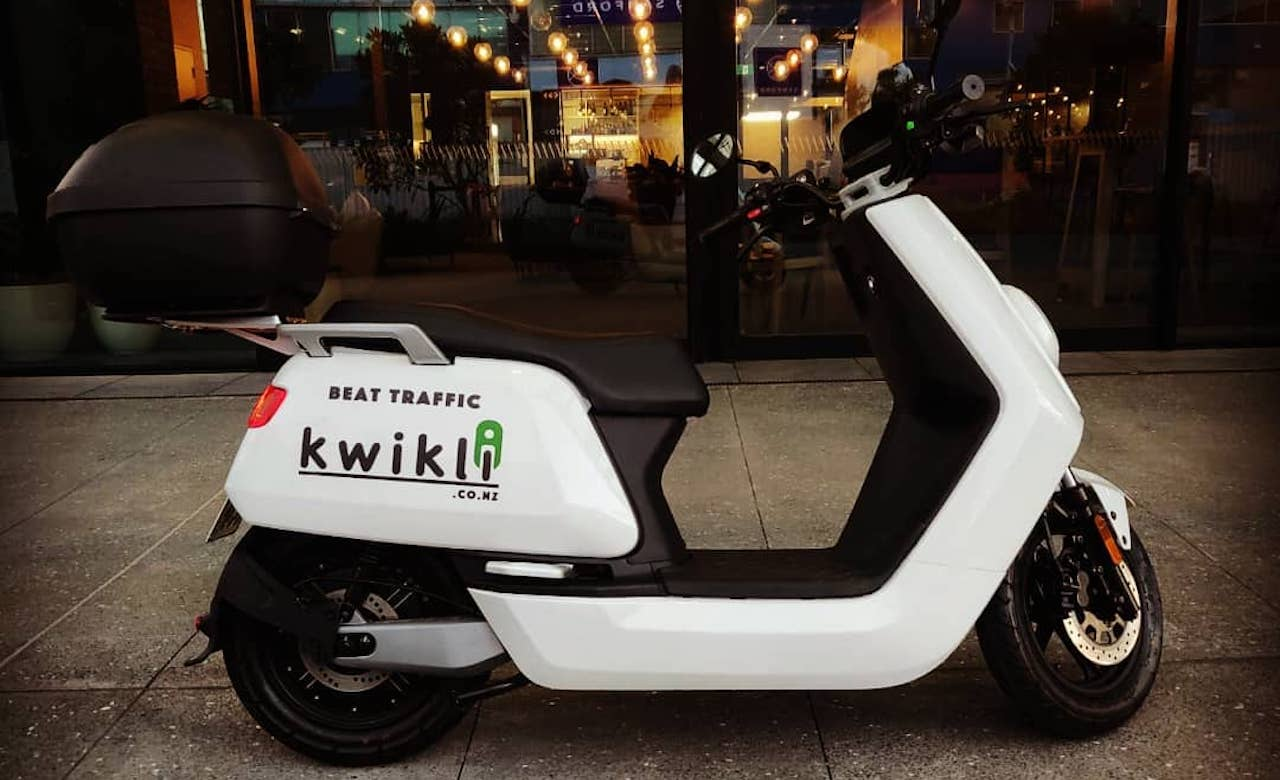 A New Dockless Moped Sharing Service Has Landed in Auckland