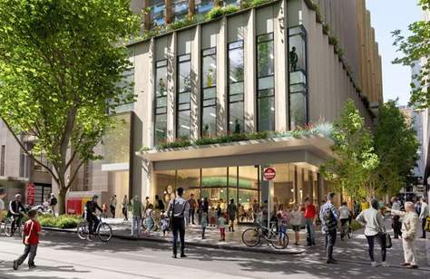 Melbourne's CBD Could Score a Huge New Precinct with Plant-Filled Rooftops