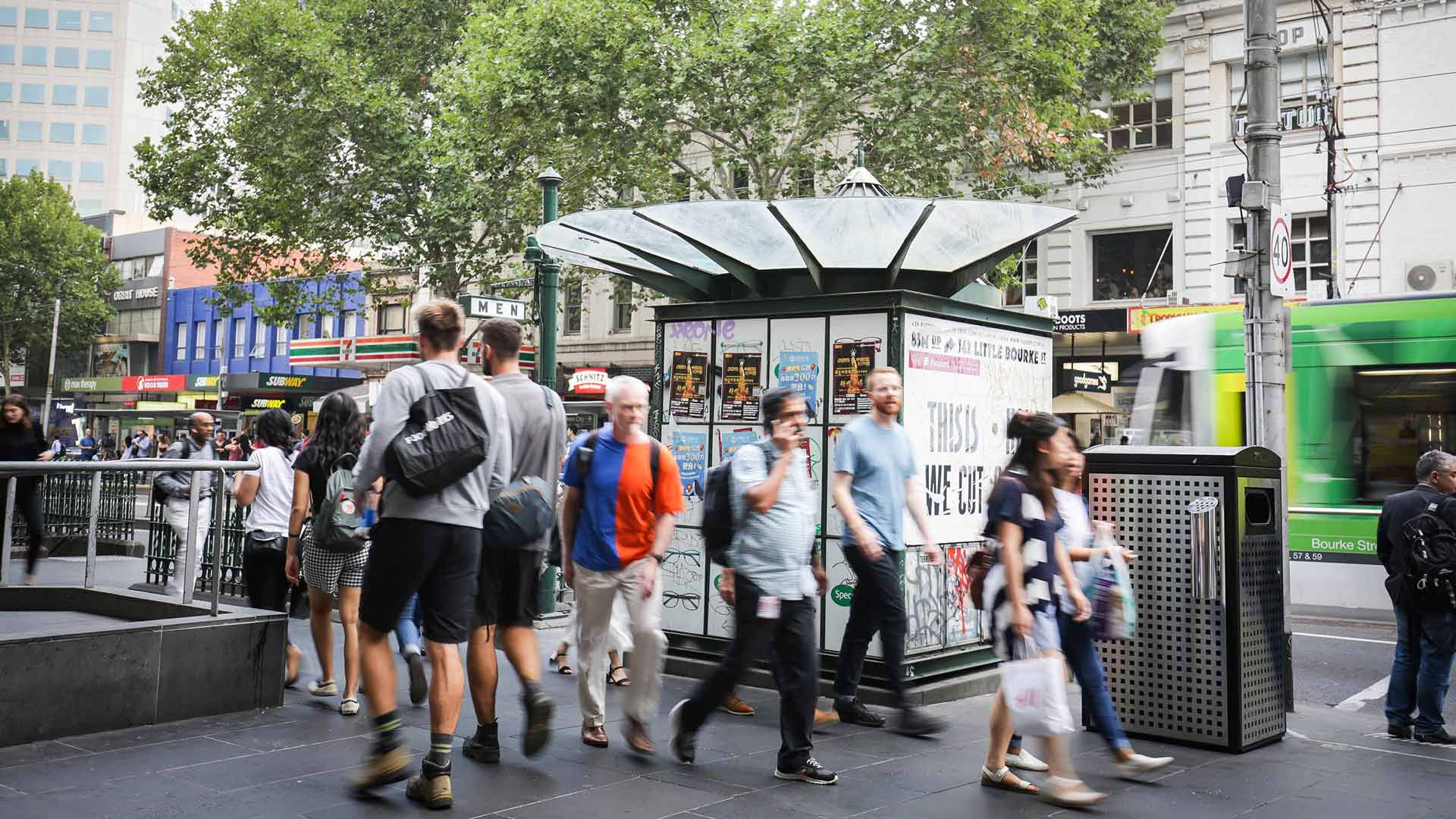 Melbourne's Footpath Kiosks Could Be Gone by the End of the Year