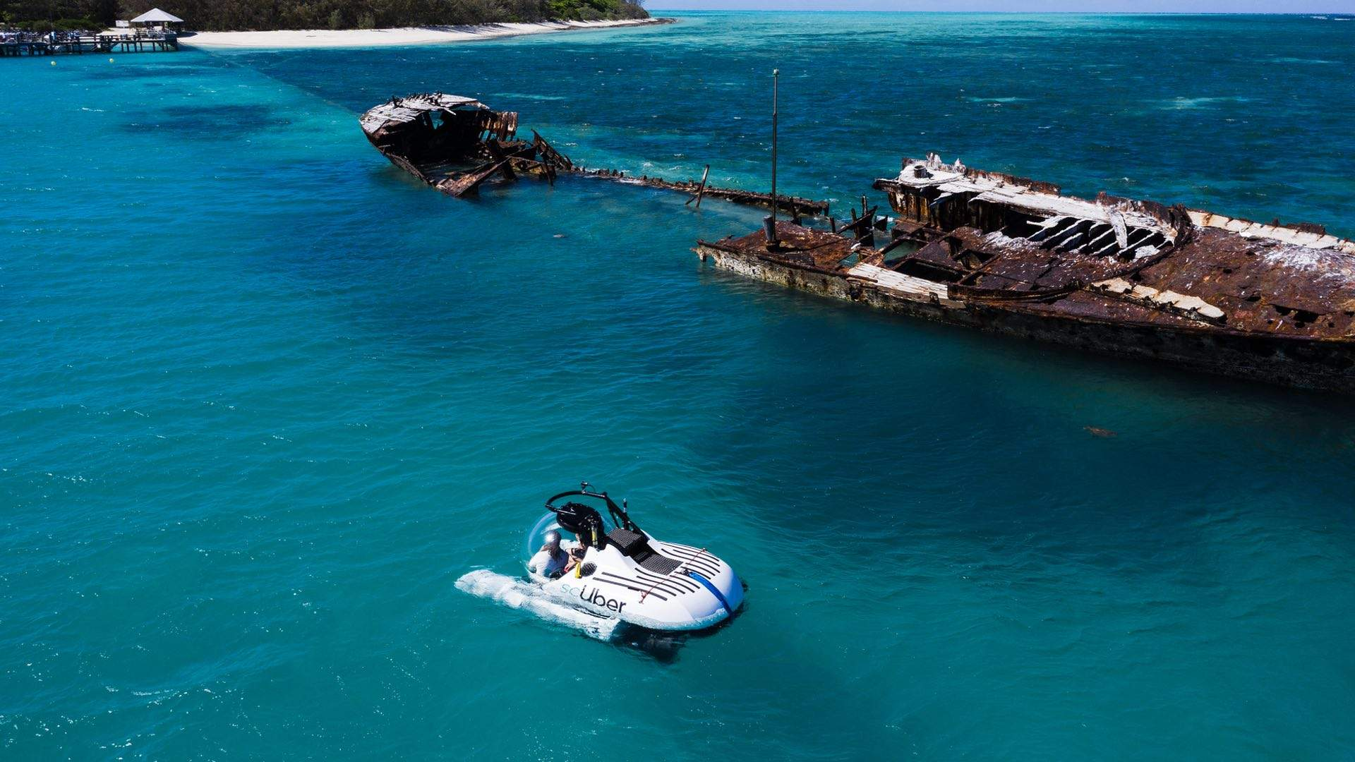 You Can Now Order an Uber Submarine to Explore the Depths of the Great Barrier Reef