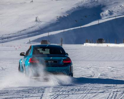 This Winter Driving Experience Lets You Tackle a Snow-Covered Race Track