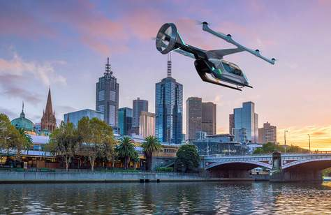 Melbourne Will Be One of the First Three Cities to Test Uber's Flying Taxis in 2020