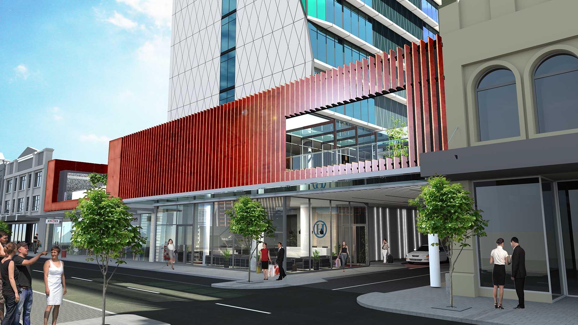 Australia's Next Art Series Hotel Will Feature a Towering 27-Storey-High Street Art Mural