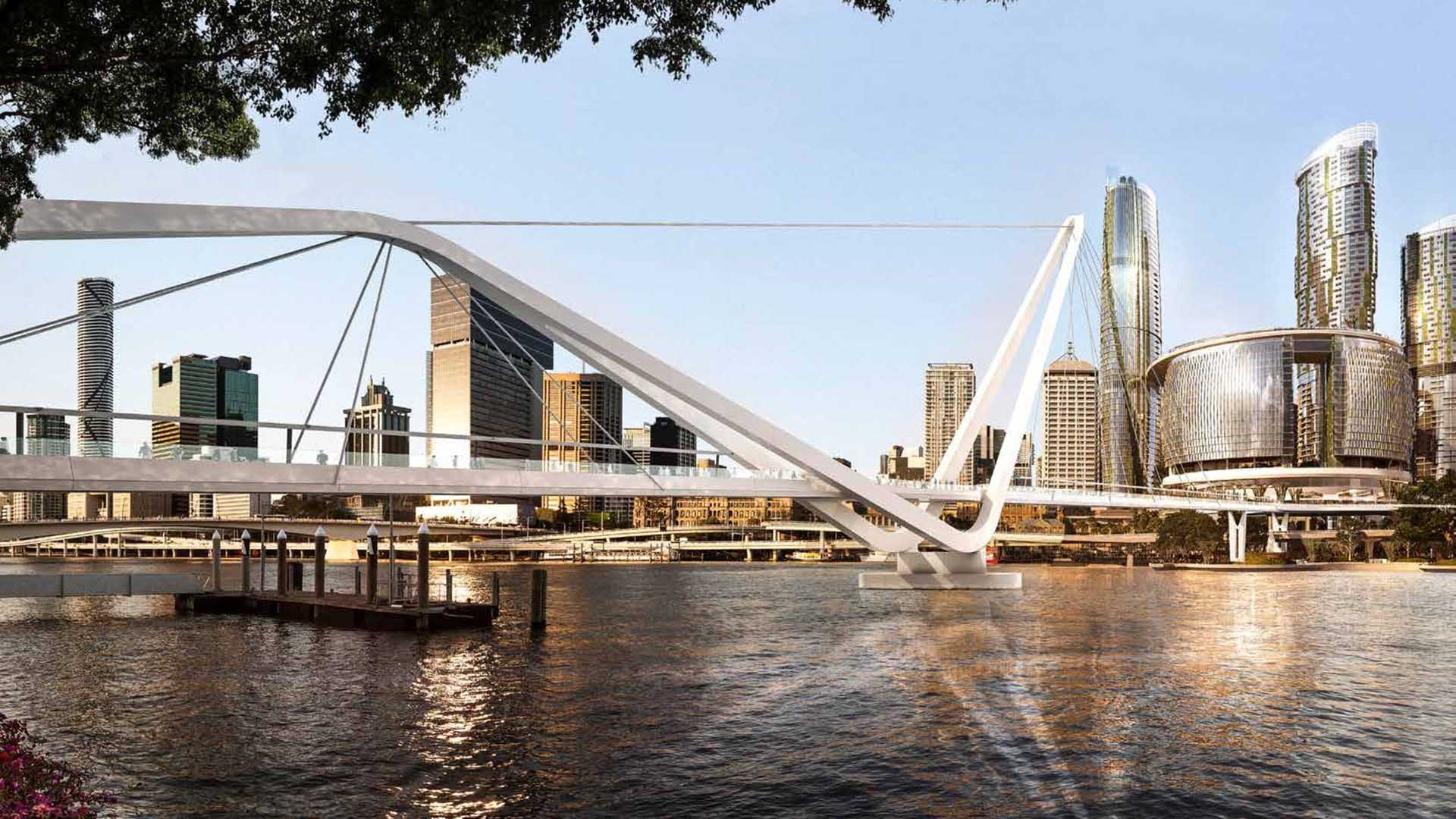 Brisbane River Is Getting Yet Another CBD Pedestrian Bridge