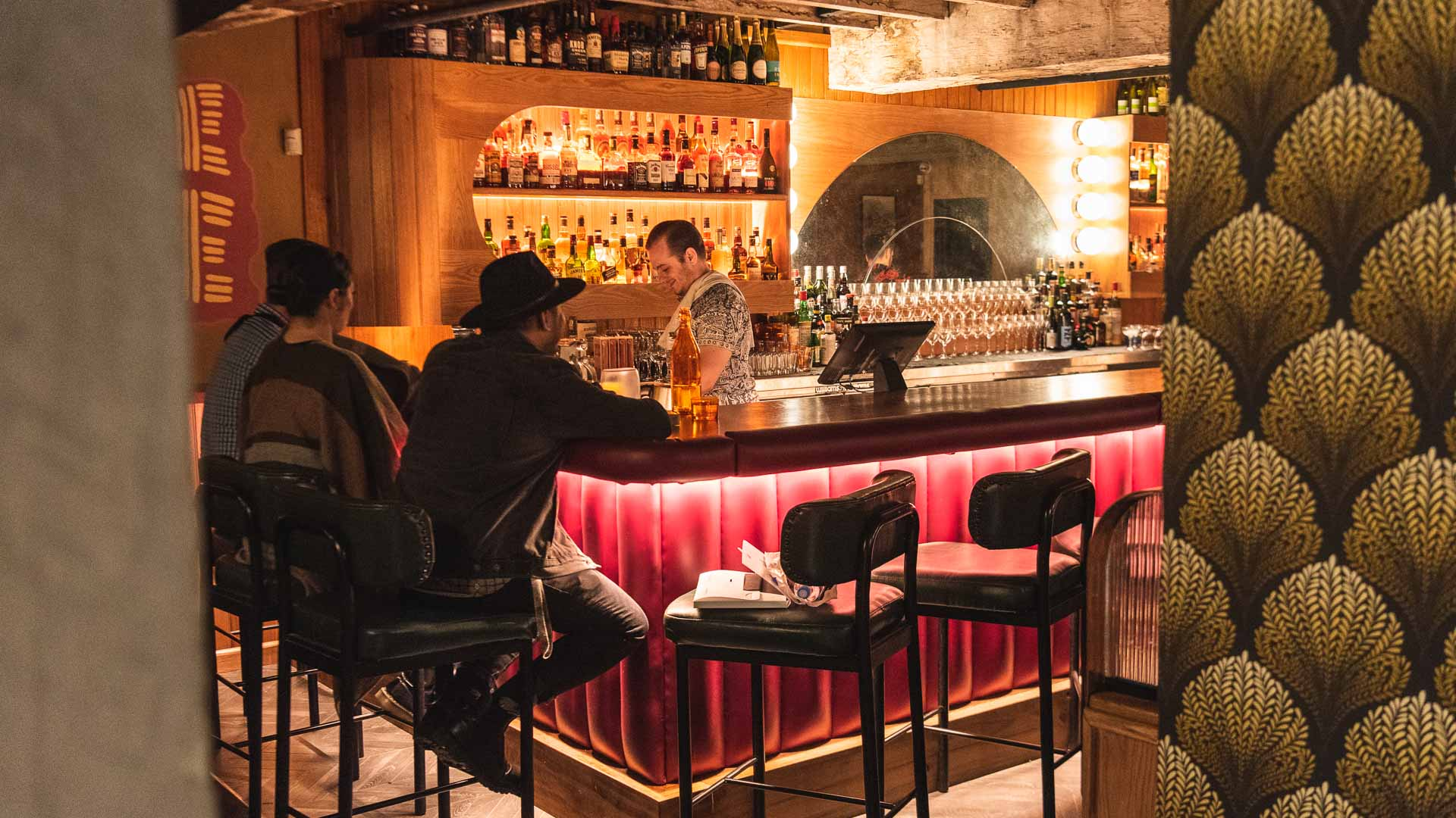Double Deuce Lounge Is the New '70s Porn Chic' Underground Bar by the Ramblin' Rascal Crew