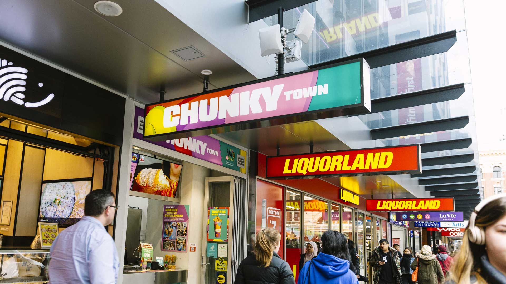 Chunky Town Is Melbourne's New Hole-in-the-Wall Serving Up a Cheesy Korean Street Food Snack
